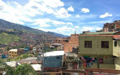 Travelling to Medellin, Columbia